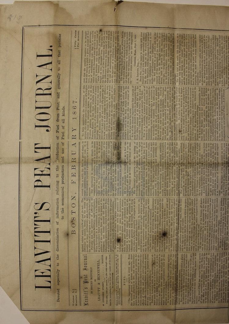 Leavitt's Peat Journal