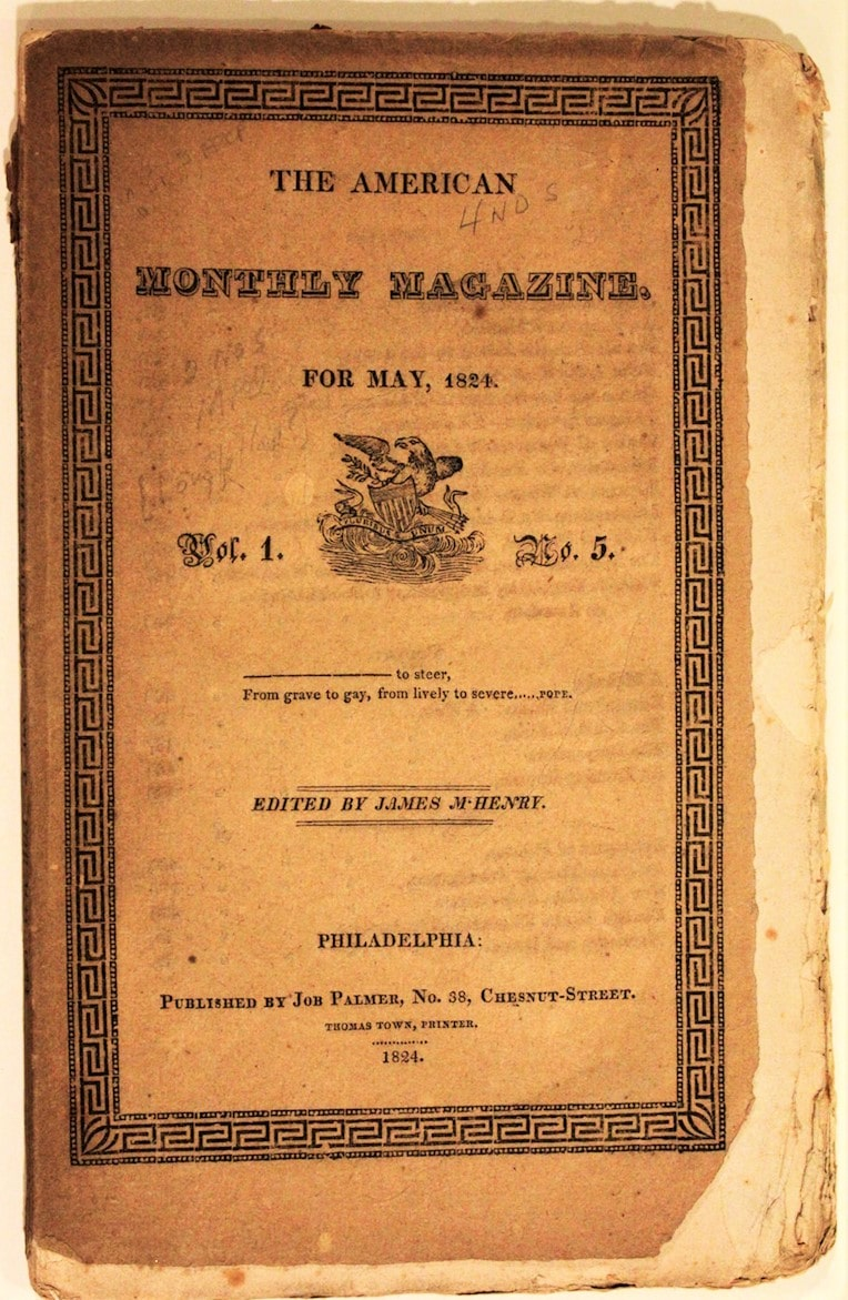 American Monthly Magazine (McHenry's)