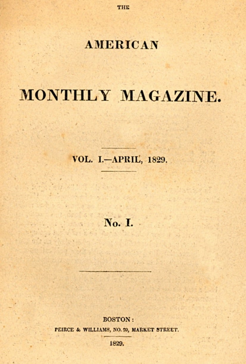 American Monthly Magazine (Willis')