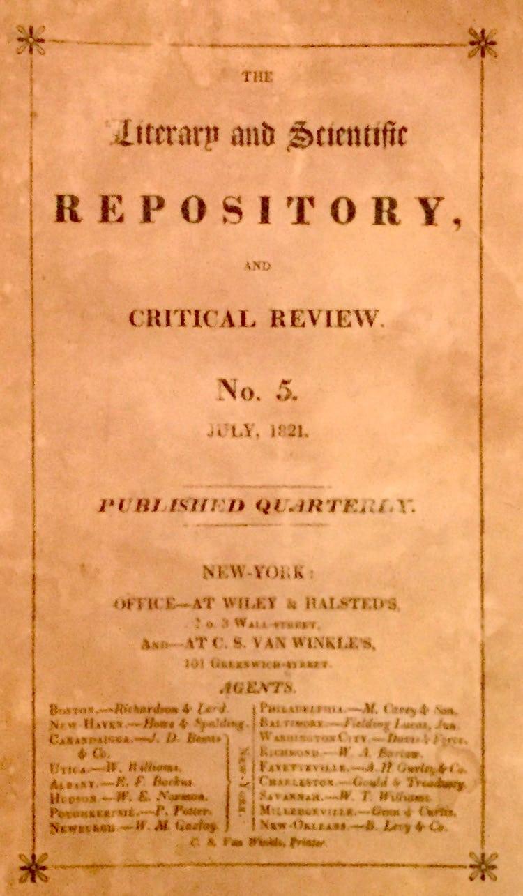 Literary and Scientific Repository