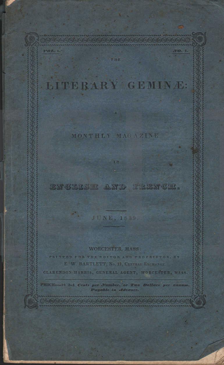Literary Geminae