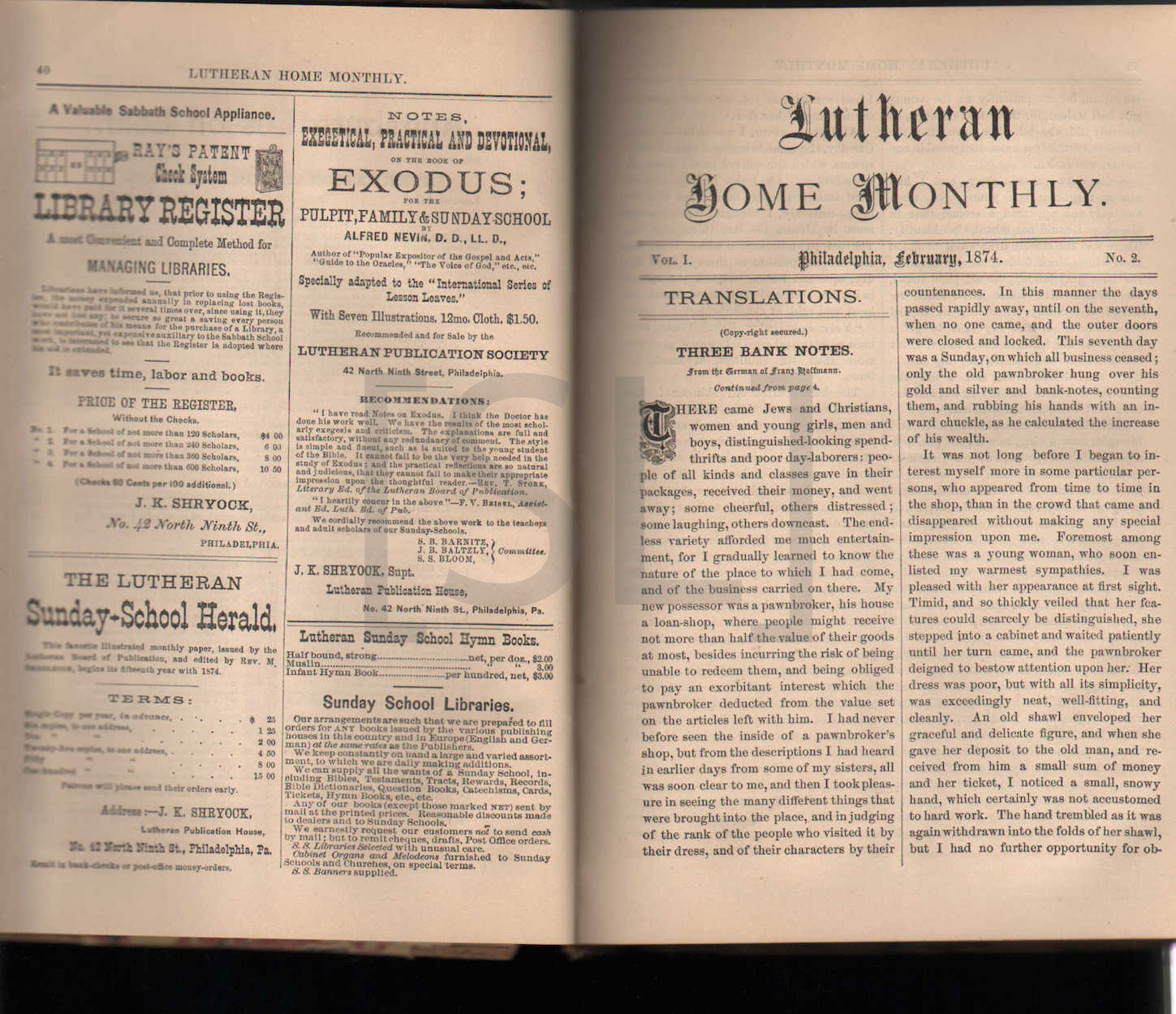 Lutheran Home Monthly