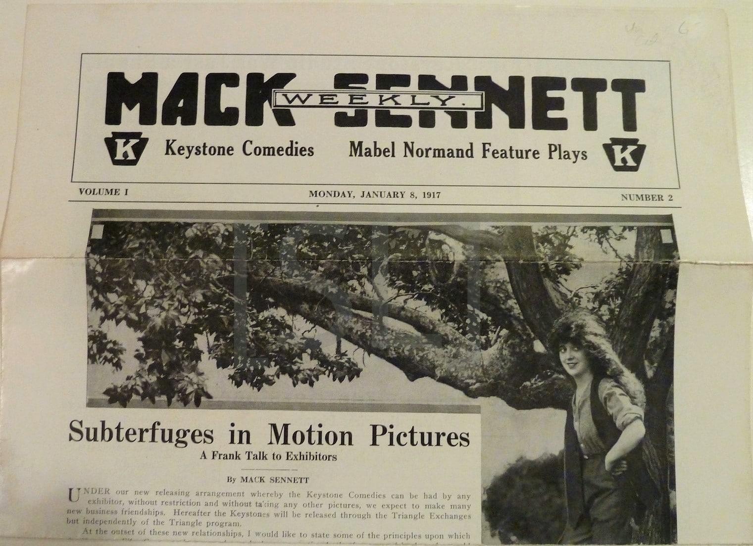 Mack Sennett Weekly