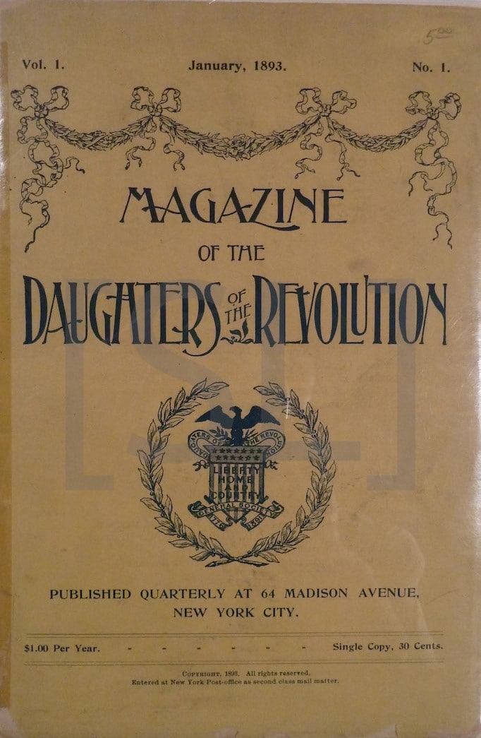 Magazine of the Daughters of the American Revolution