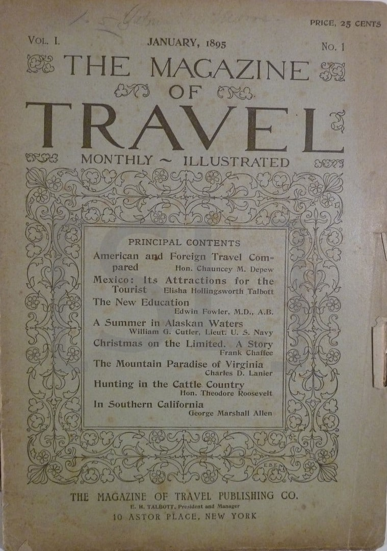 Magazine of Travel