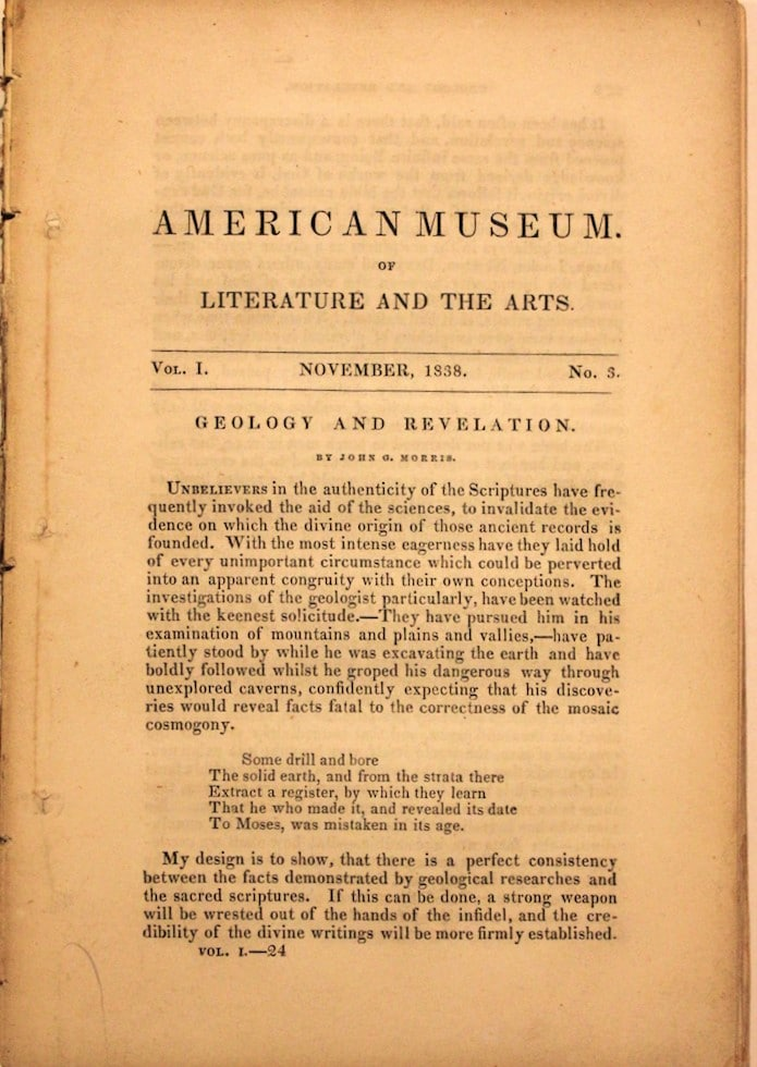 American Museum, Of Literature And The Arts
