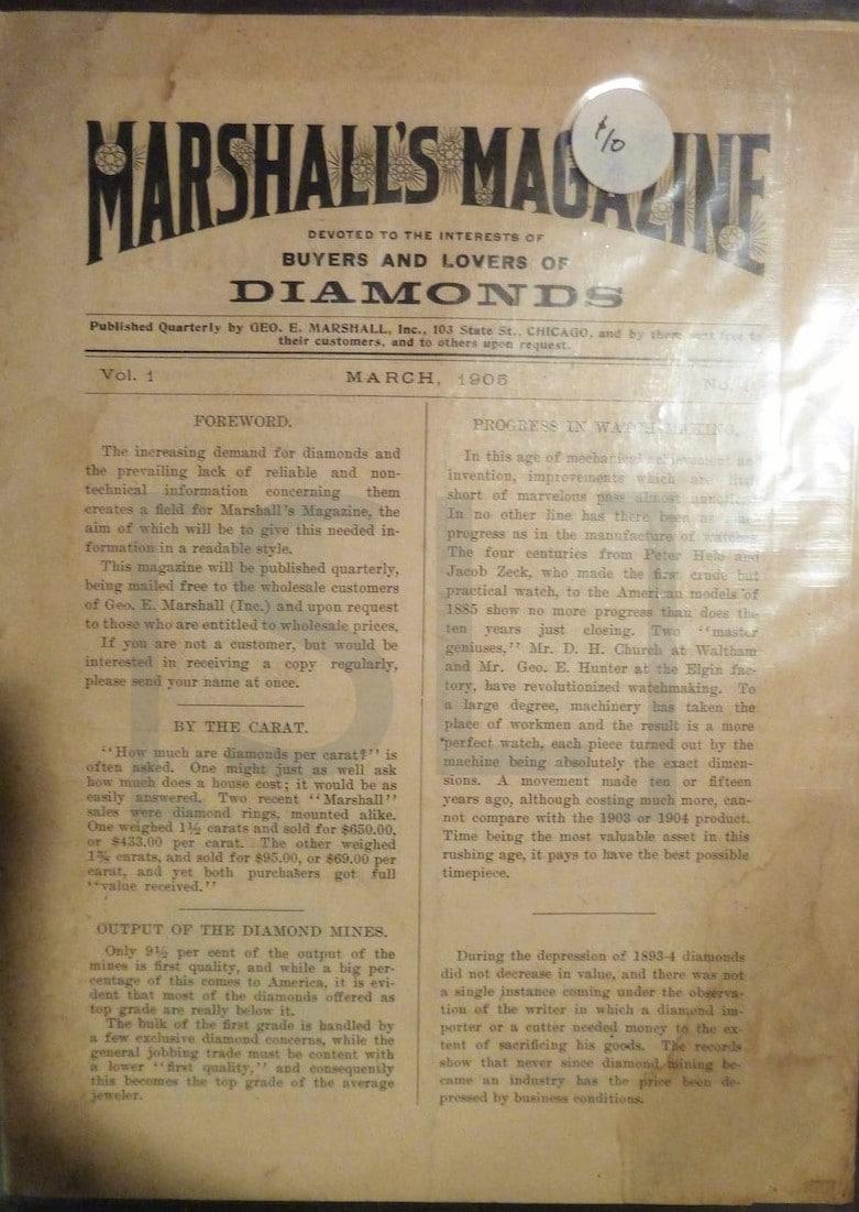 Marshall's Magazine