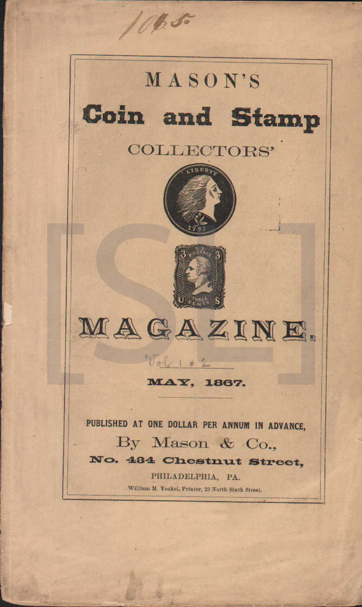 Mason's Coin and Stamp Collectors' Magazine
