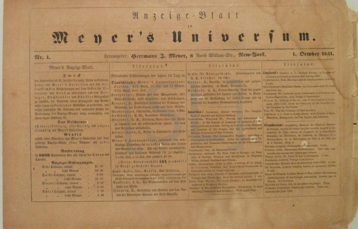Mener's Universum