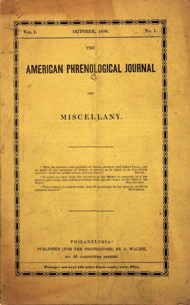 American Phrenological Journal and Miscellany
