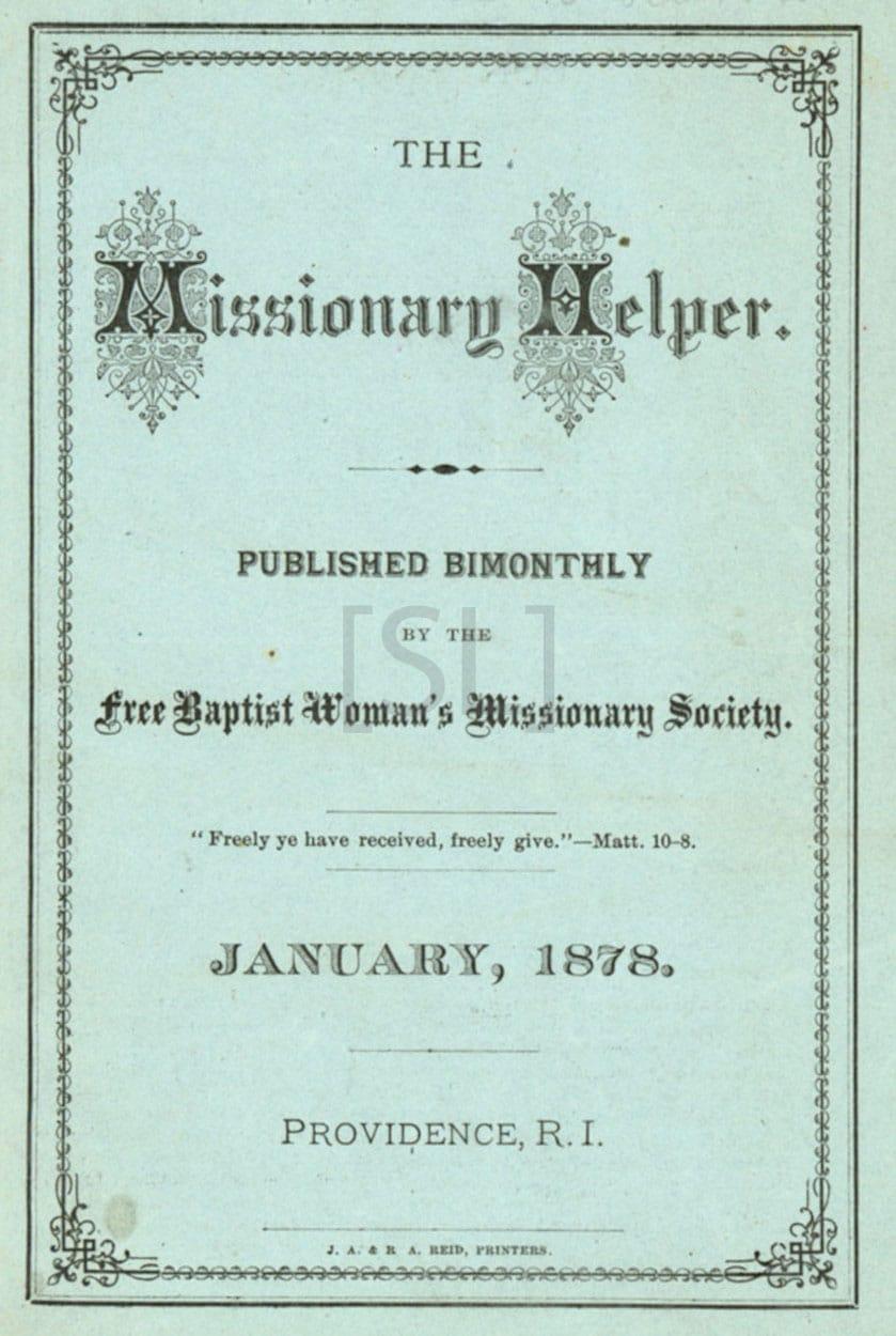 Missionary Helper