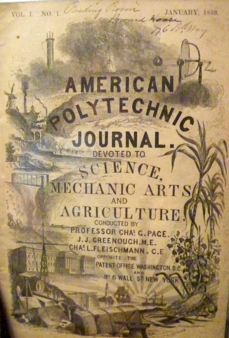 American Polytechnic Journal: Devoted to Science, Mechanic Arts and Agriculture