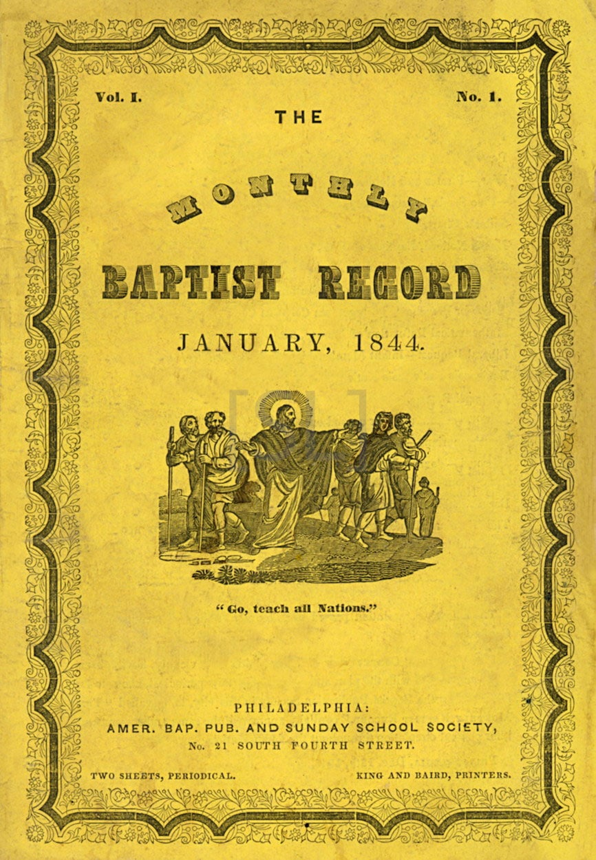 Monthly Baptist Record