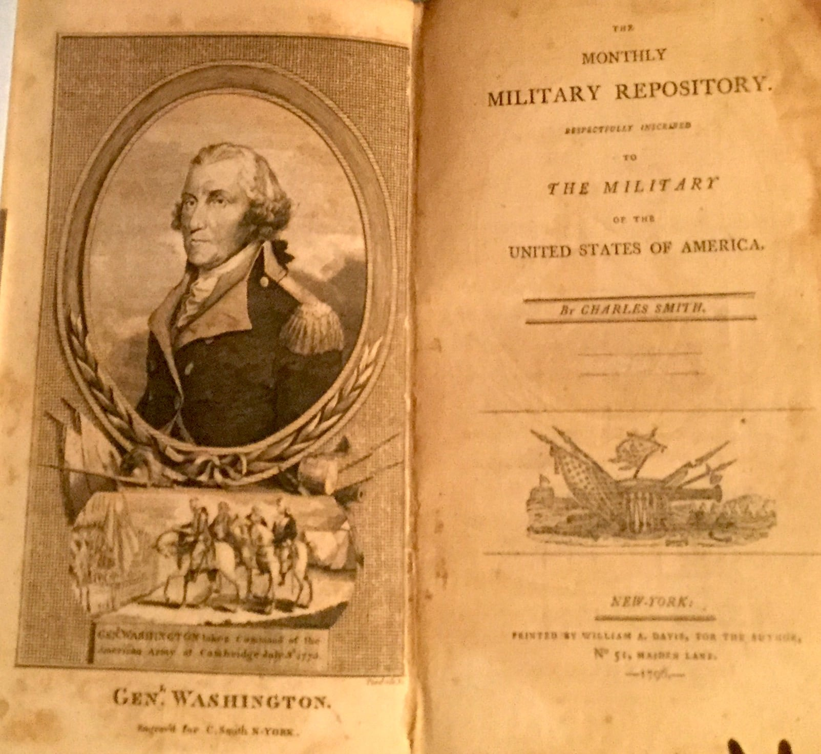 Monthly Military Repository Respectfully Inscribed to the Military of the United States of America
