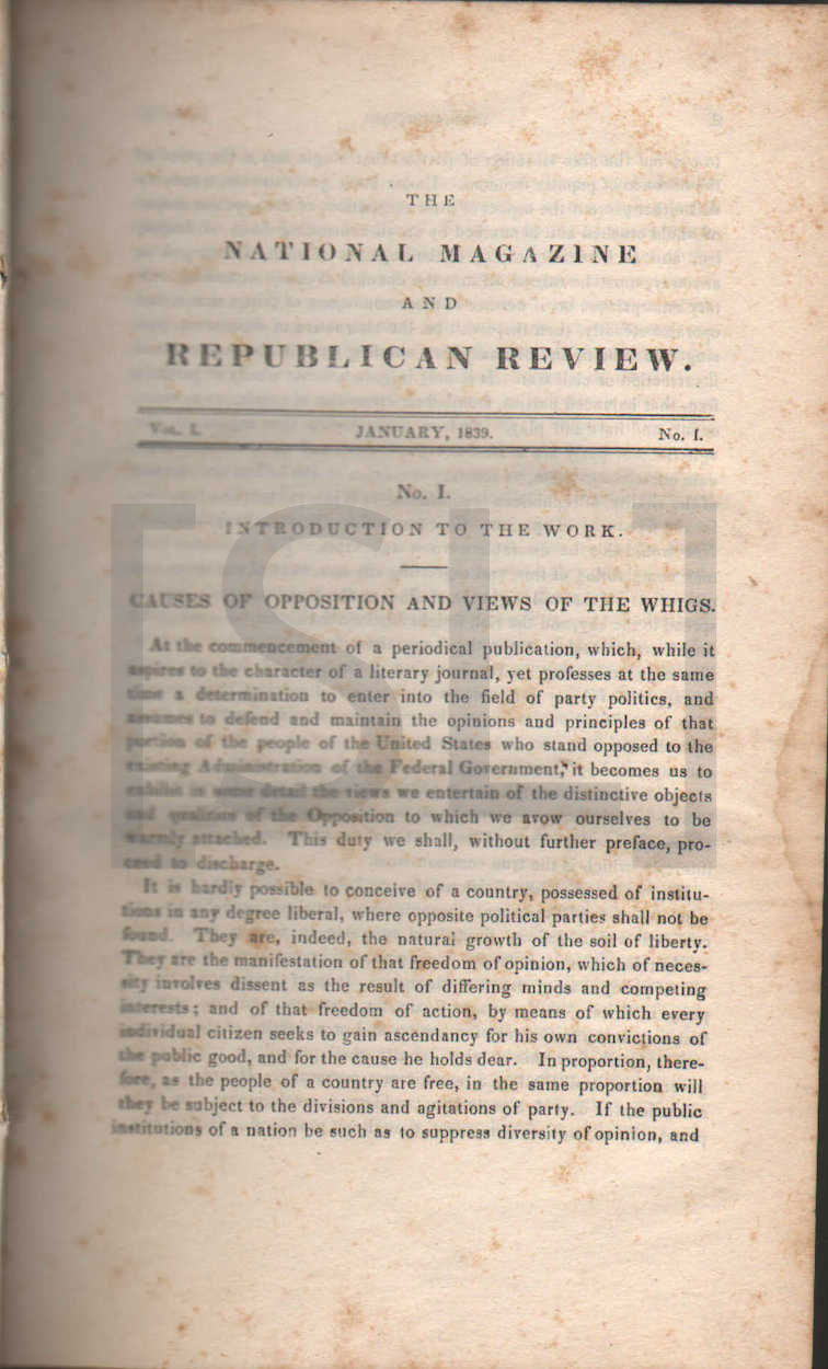 National Magazine and Republican Review