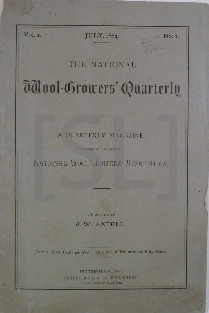 National Wool-Growers' Quarterly