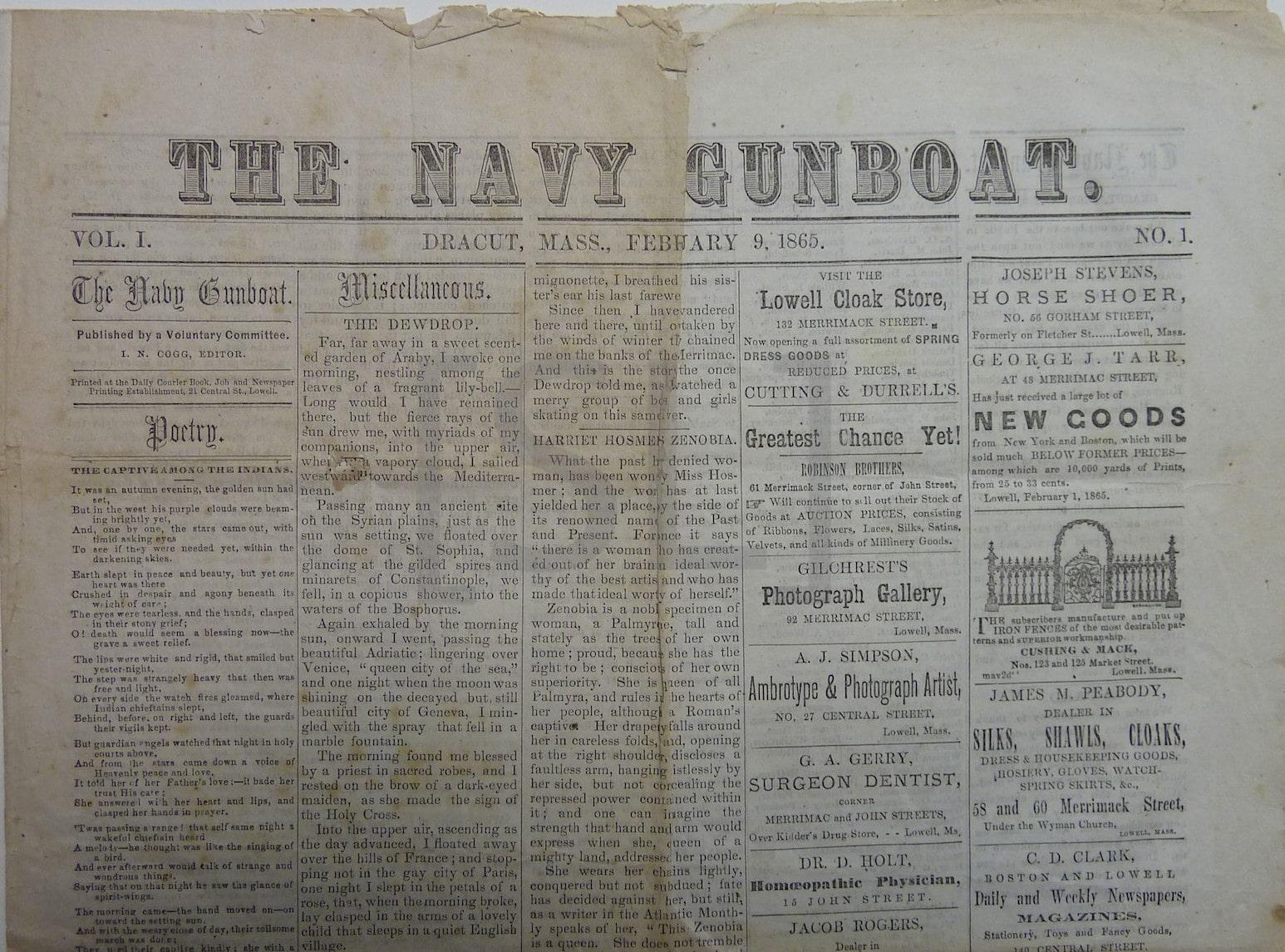 Navy Gunboat