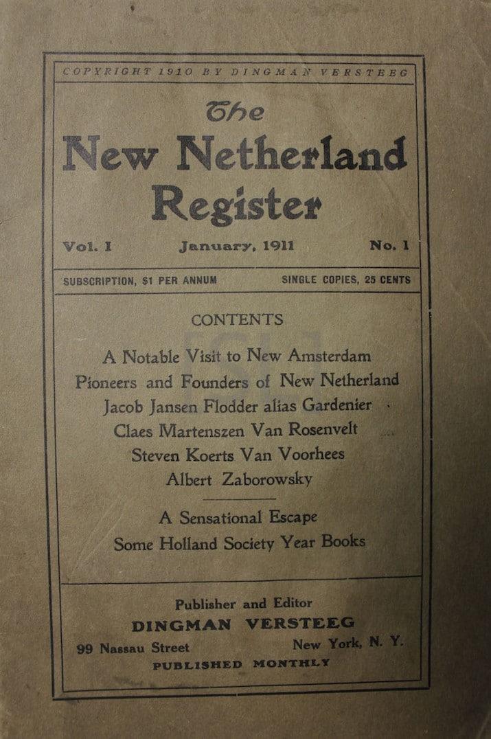 New Netherland Register