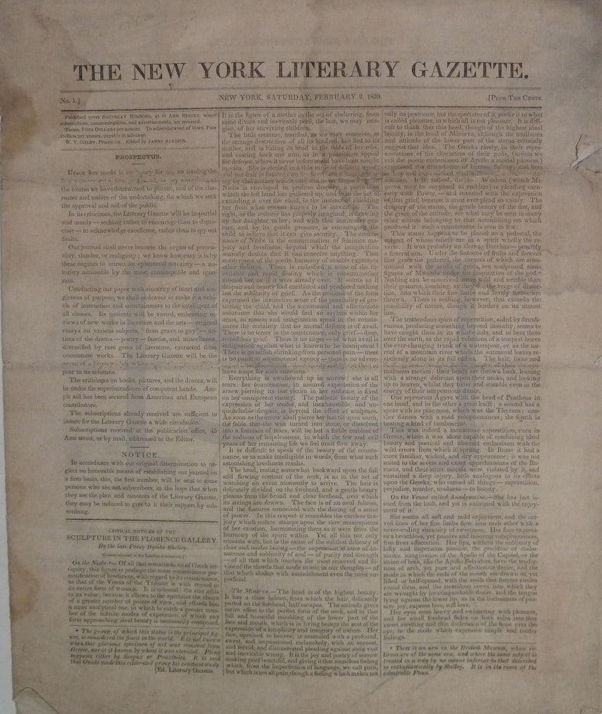 New York Literary Gazette