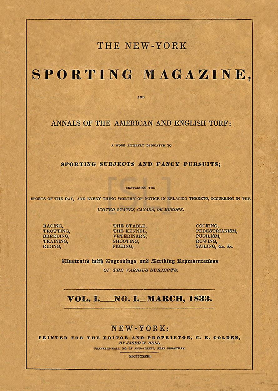 New York Sporting Magazine
