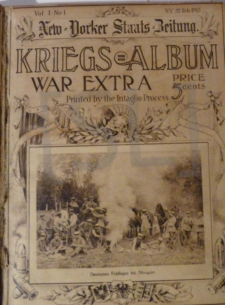 New Yorker Staats Beitung Kriegs Album