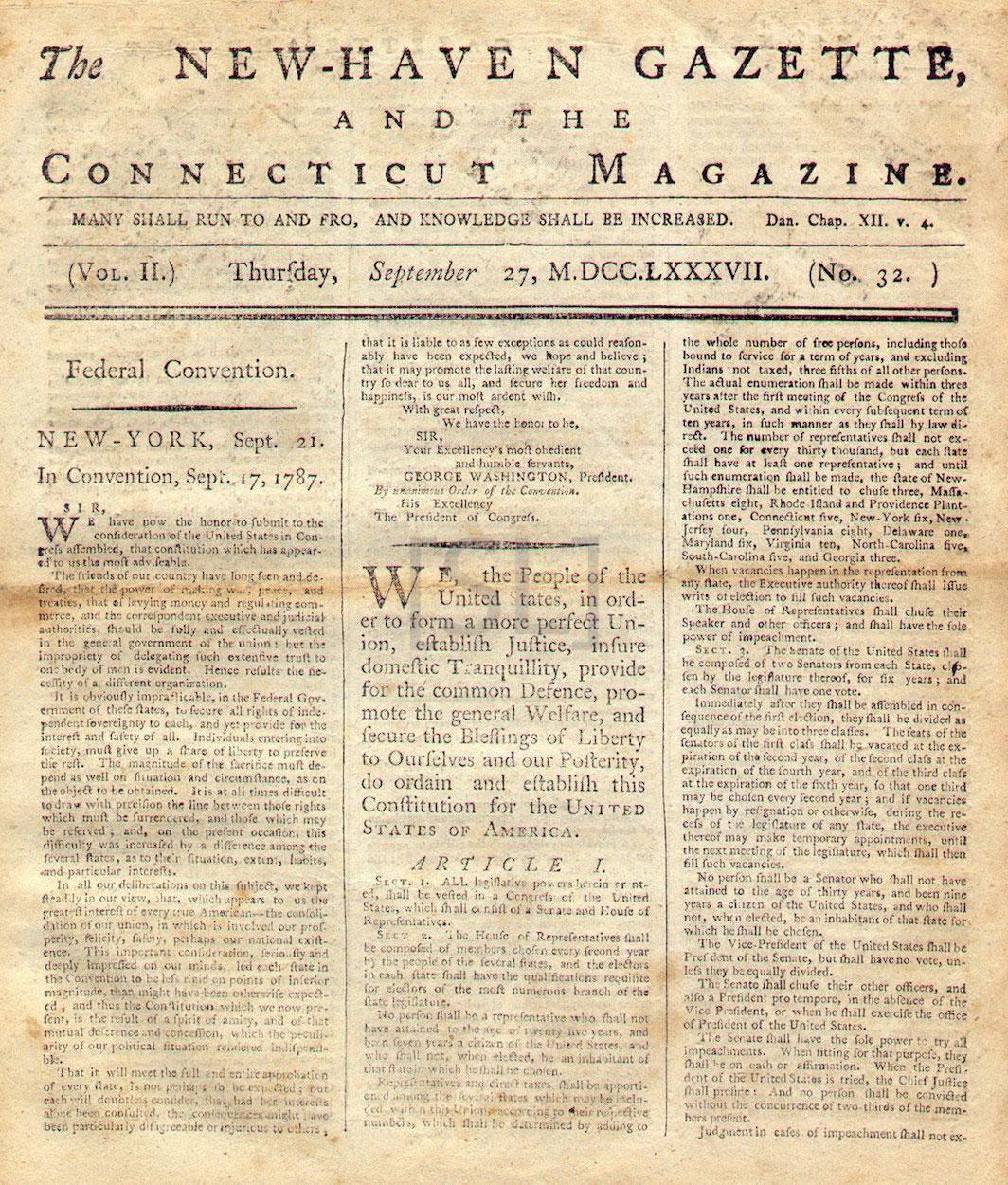 New-Haven Gazette