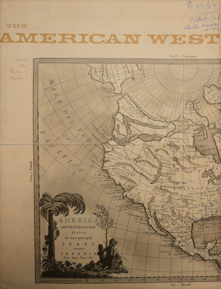 American West; Journal of the Western History Association