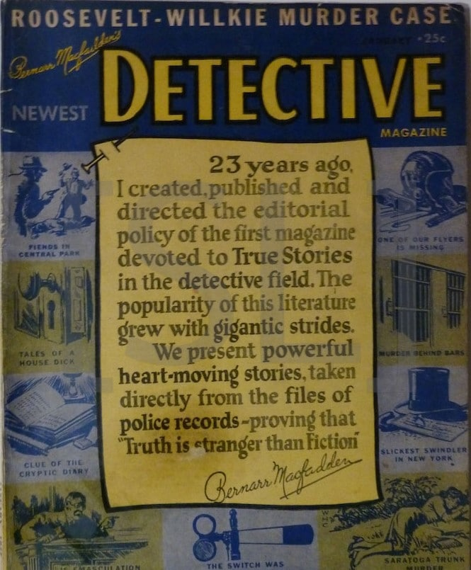 Newest Detective Magazine