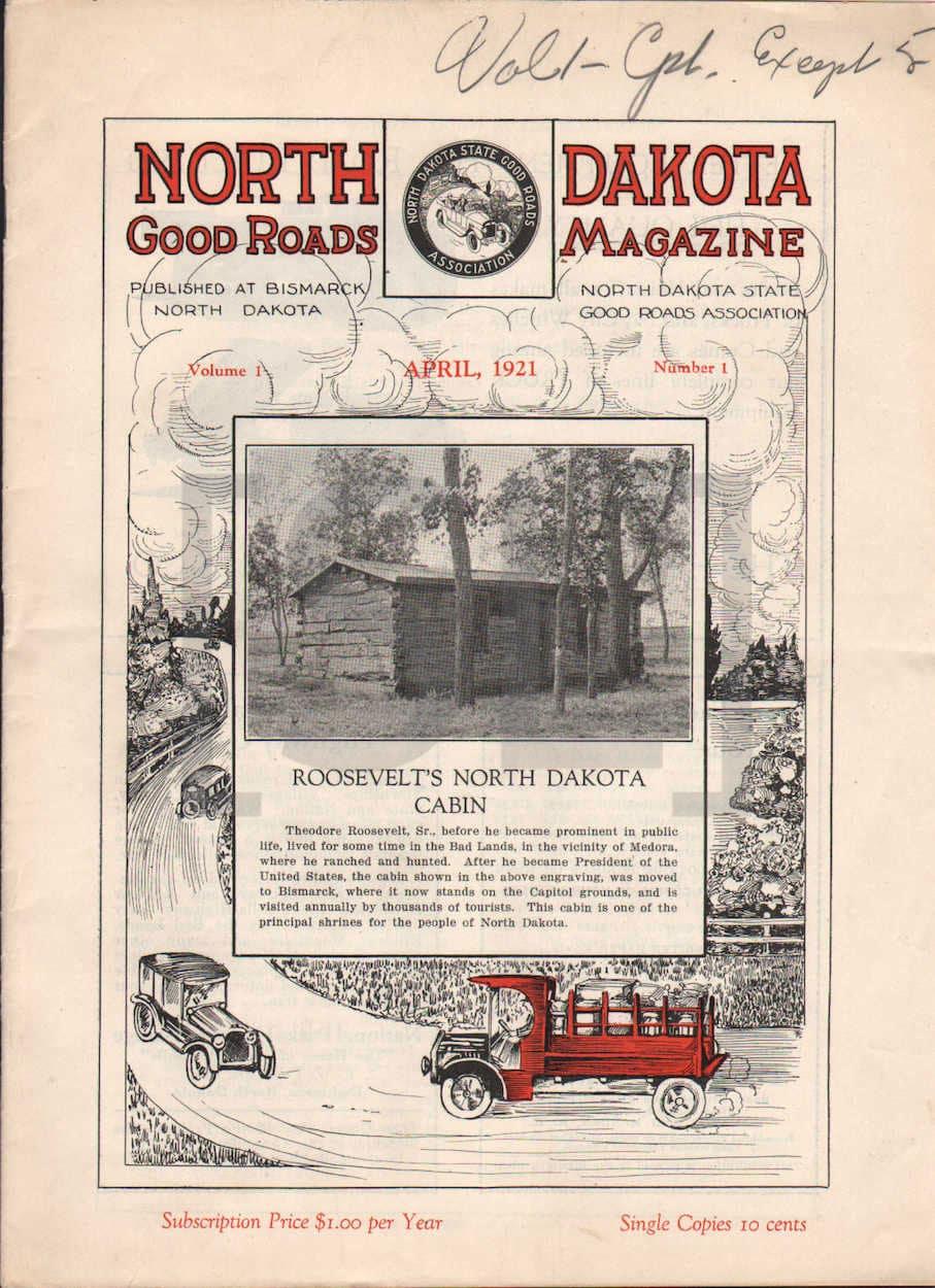 North Dakota Good Roads Magazine