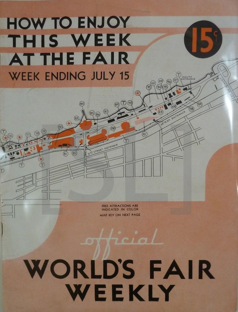 Official World's Fair Weekly