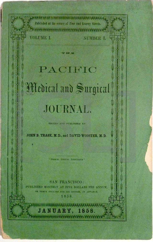 Pacific Medical and Surgical Journal