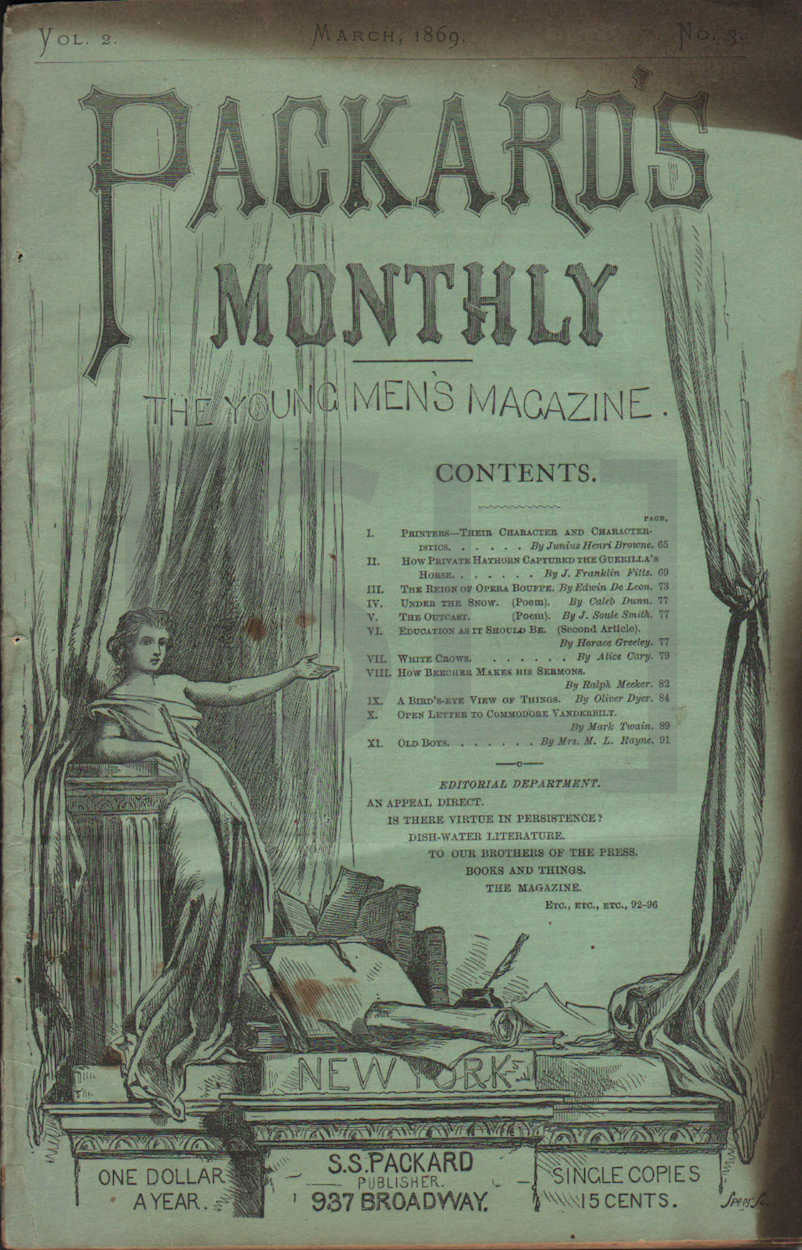 Packard's Monthly