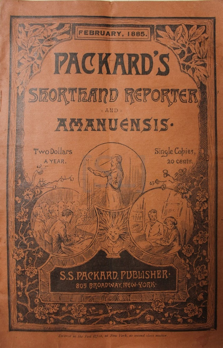 Packard's Shorthand Reporter and Amanuensis