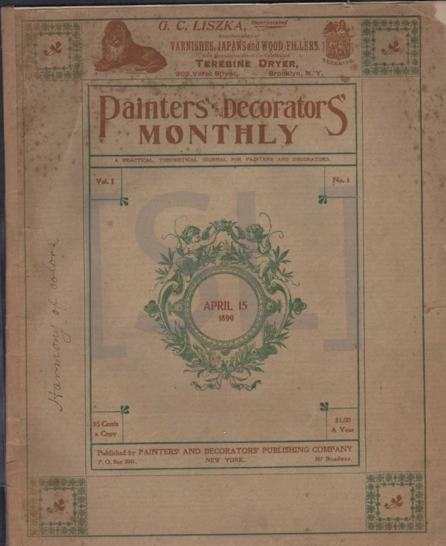 Painters and Decorators' Monthly
