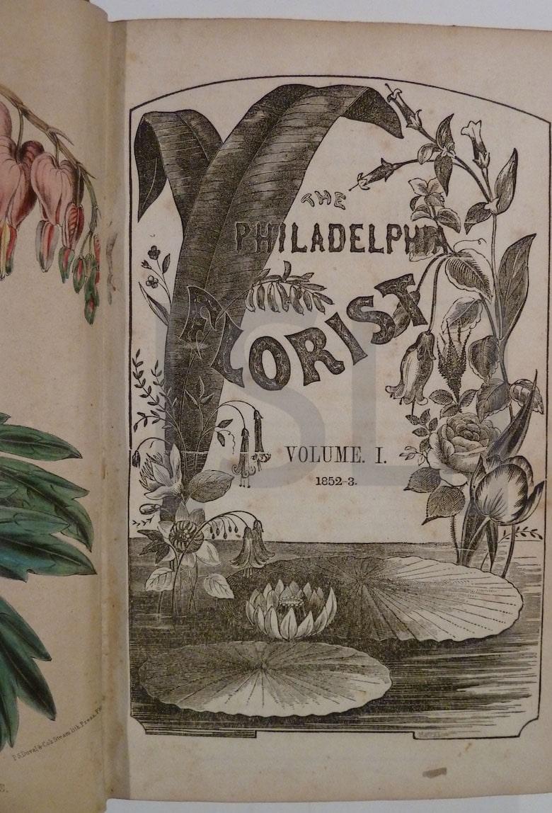 Philadelphia Florist and Horticultural Journal