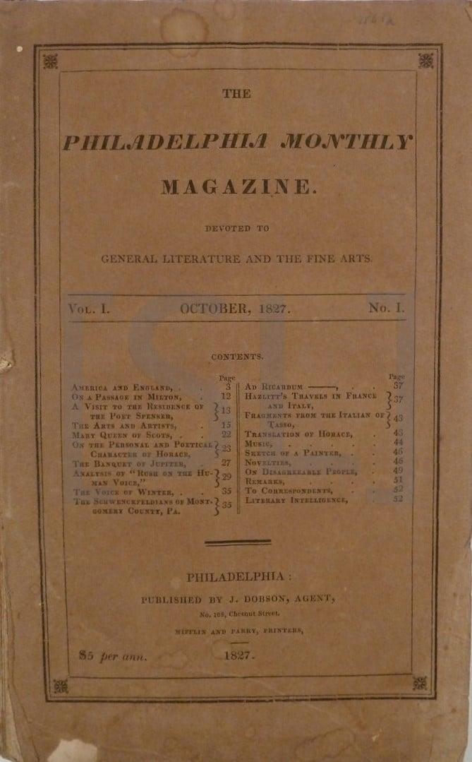 Philadelphia Monthly Magazine