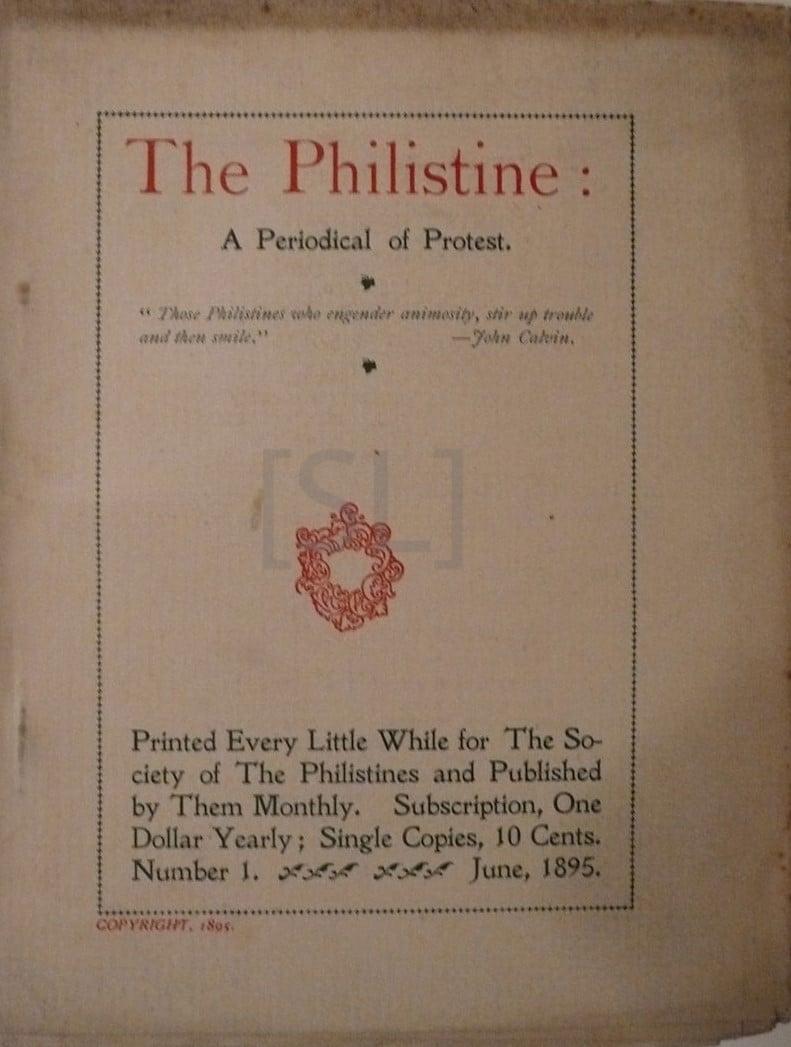 Philistine: A Periodical of Protest