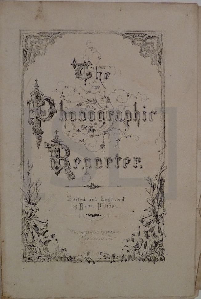 Phonographic Reporter