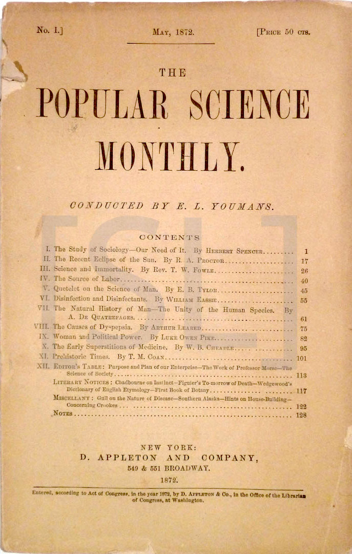 Popular Science Monthly