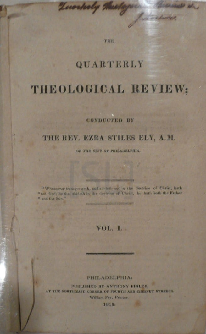 Quarterly Theological Review