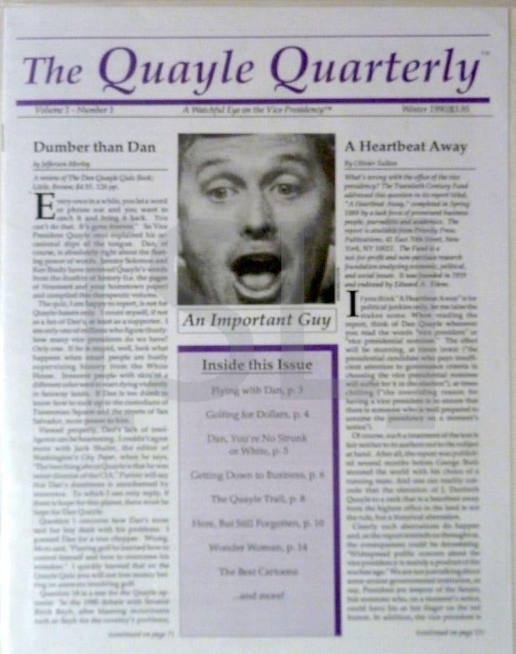 Quayle Quarterly