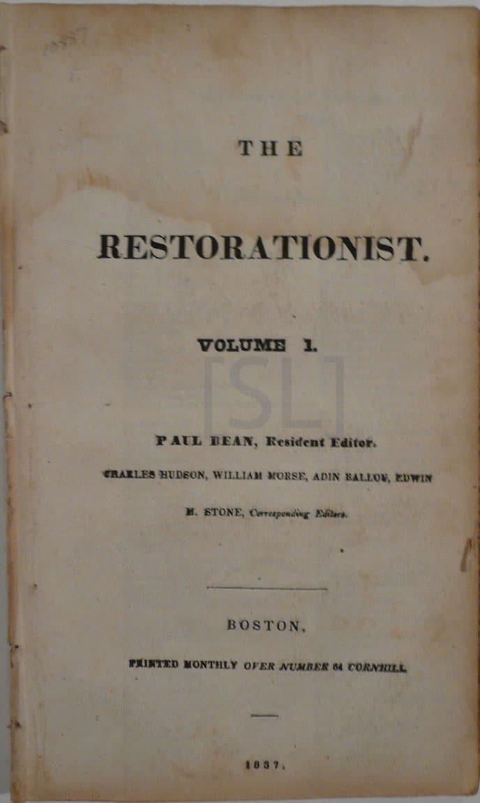 Restorationist