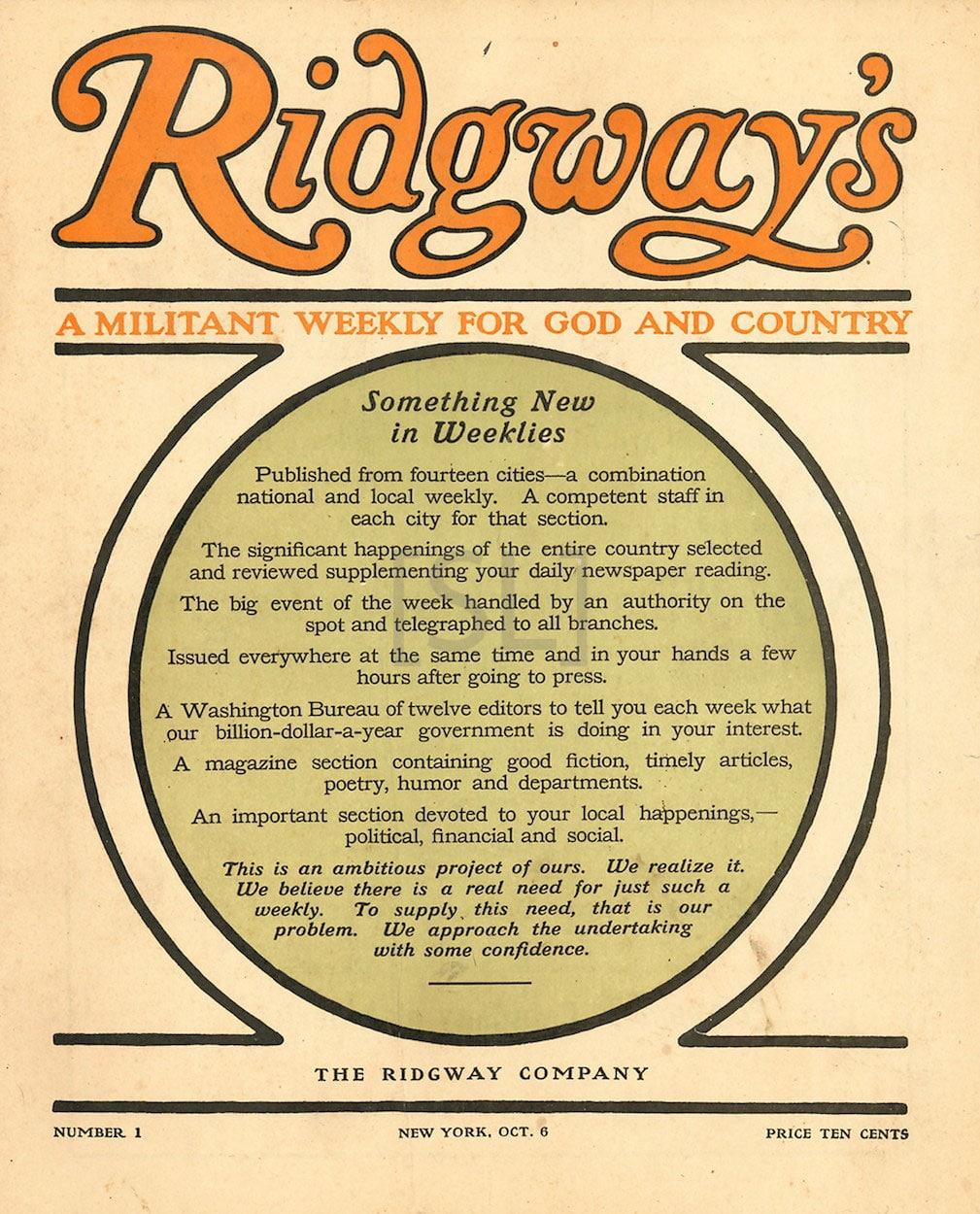 Ridgeway's