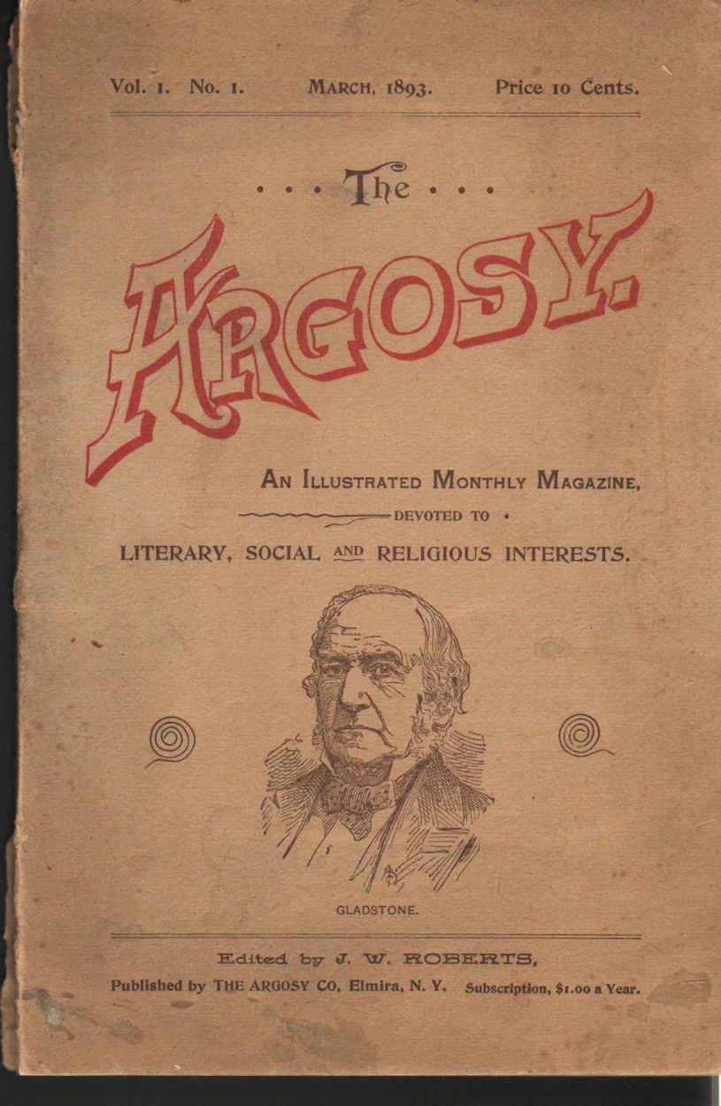 Argosy, An Illustrated Monthly Magazine Devoted to Literary, Social and Religious Interests