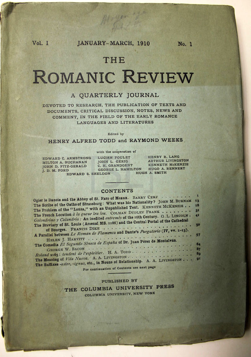 Romanic Review