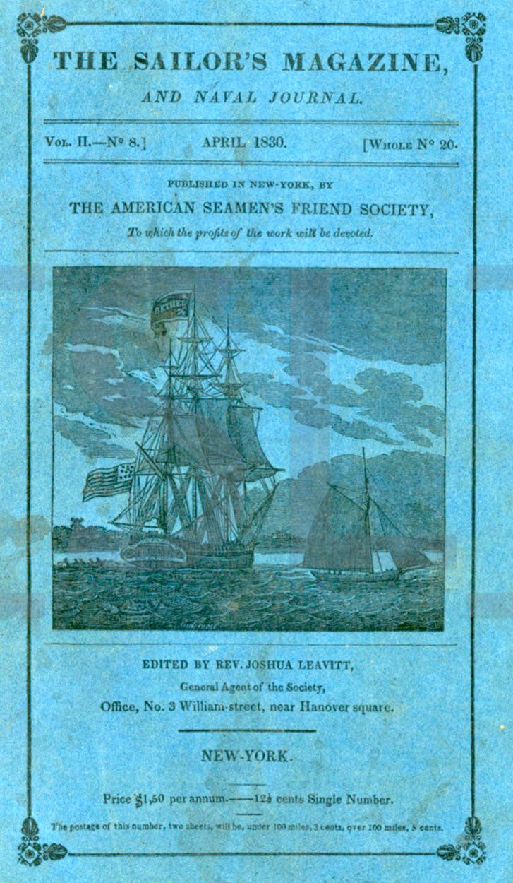 Sailor's Magazine and Naval Magazine