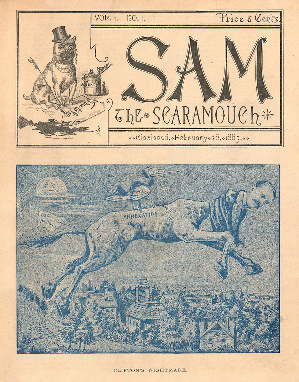Sam, the Scaramouch
