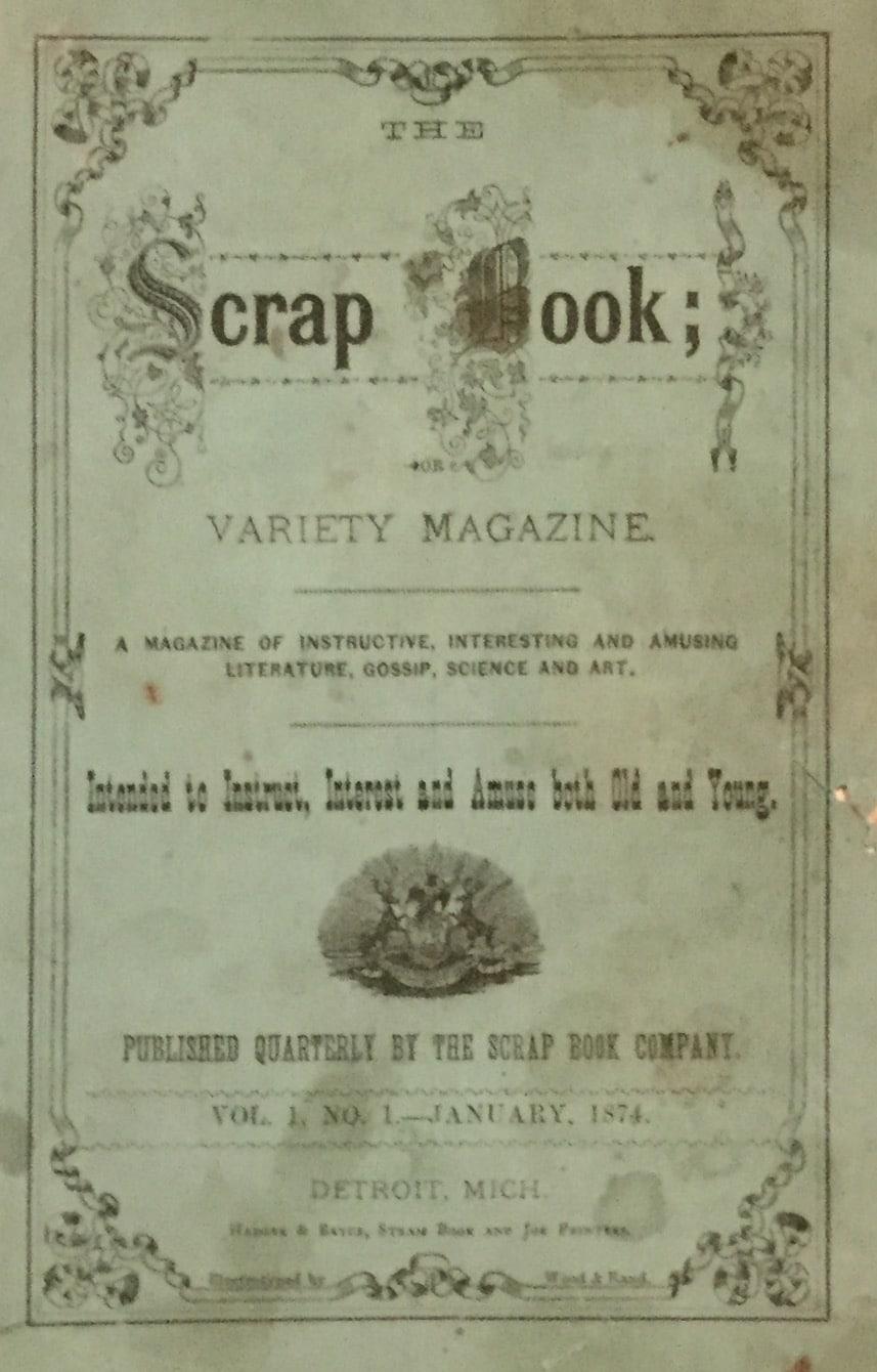 Scrap Book, Or Variety Magazine