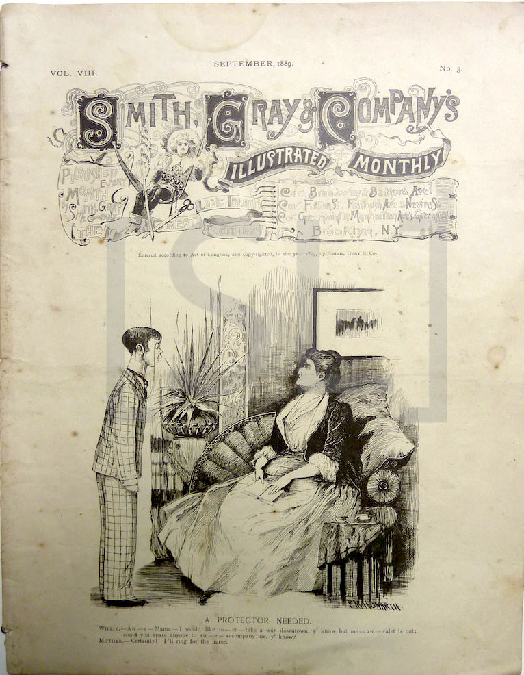Smith Gray & Company's Illustrated Monthly