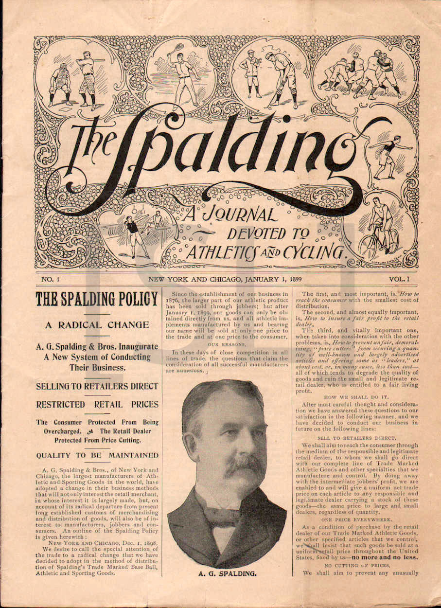 Spalding, a Journal Devoted to Athletics and Cycling